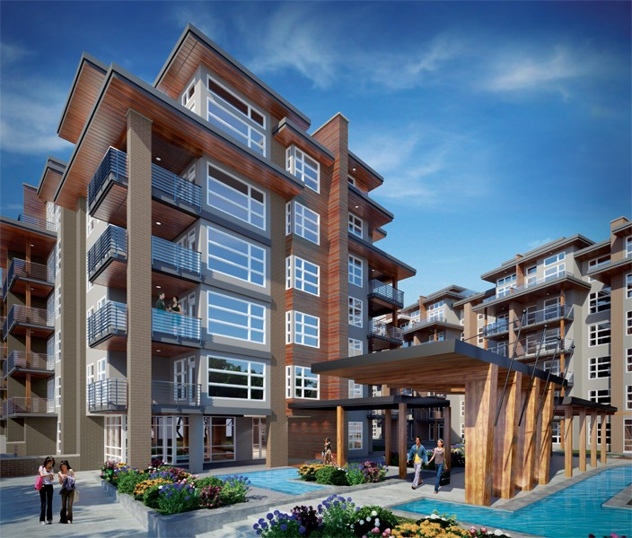 Apartment Buildings For Sale: Living In UBC : Livinginubc.com : Sail By Adera In UBC