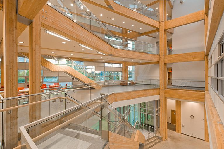 Inside the UBC Centre for Interactive Research and Sustainability